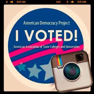 ADP I Voted Sticker Instagrammed