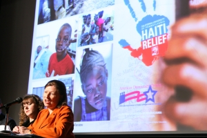 California University of Pennsylvania and Haiti relief