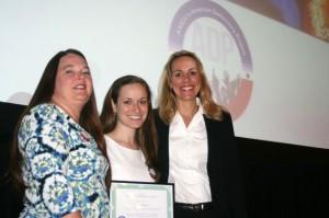 UMSL's Patricia Zahn, Sivya Smason and Kristy Tucciarone