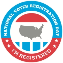 NVRD I'm Registered Sticker