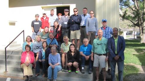 2013 Stewardship of Public Lands Seminar Participants Photo Courtesy of: Jennifer Jackman, Salem State University