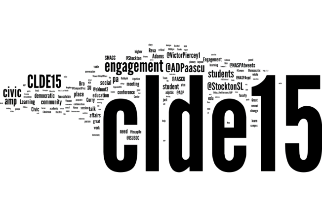 CLDE15 social media word cloud