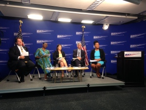 CAP healthy democracies report panel