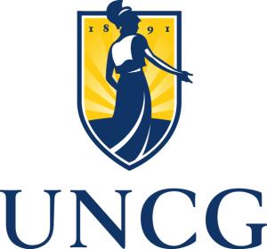 UNCG square logo
