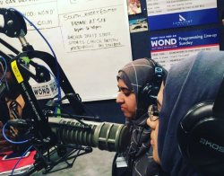 Co Chairwomen Tahira Ayub and Nudar Chowdhury speaking about SYMW and Islamophobia on WOND 1400 radio.