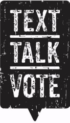 text-talk-vote-logo
