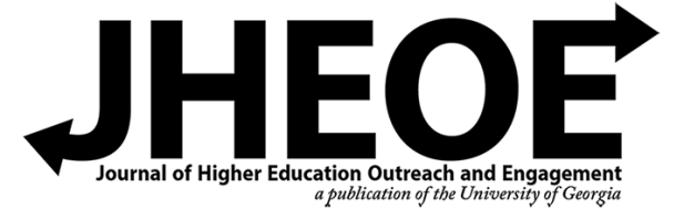 Journal of Higher and Education Outreach and Engagement Header