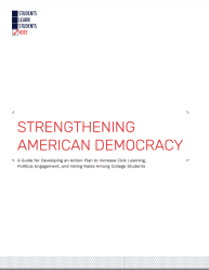 Strengthening American Democracy