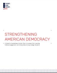 Strengthening American Democracy