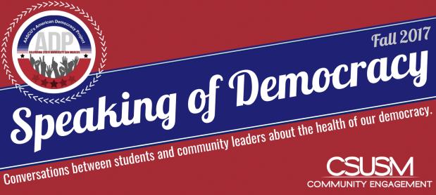 CSUSM_Speaking of Democracy
